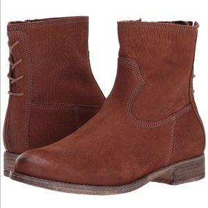 Josef Seibel Sienna 01 Brown lace up booties 7/37